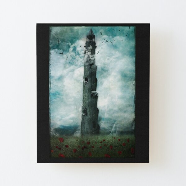 The Dark Tower Wood Mounted Print