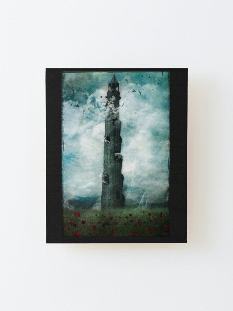 Alternate view of The Dark Tower Mounted Print