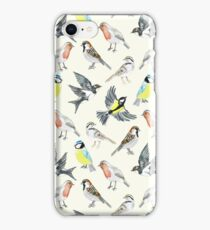 Illustrated Birds iPhone Case/Skin