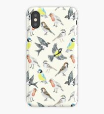 Illustrated Birds iPhone Case
