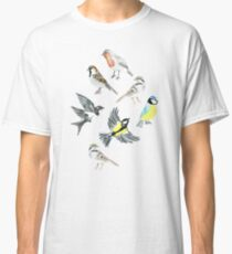 Illustrated Birds Classic T-Shirt