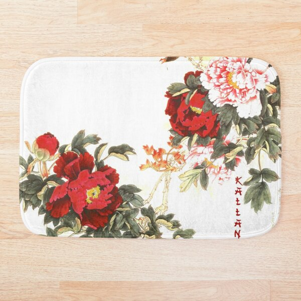 since chrysanthemums only bloom in the cooler season. Bath Mat