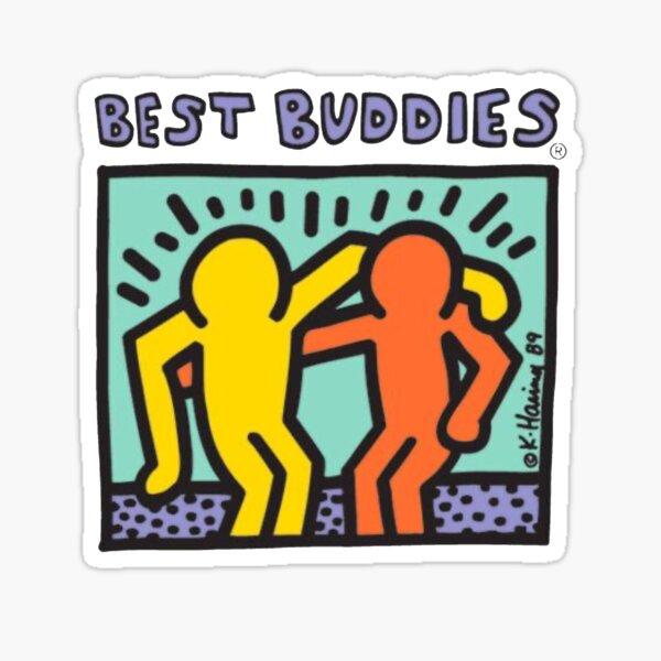 Best Buddies Logo Sticker