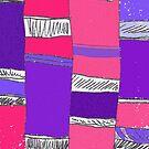 Purple Columns by Betty Mackey