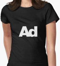 ad Women's Fitted T-Shirt