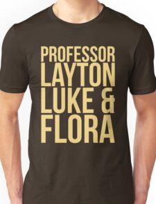 Professor Layton & Crew T-Shirt