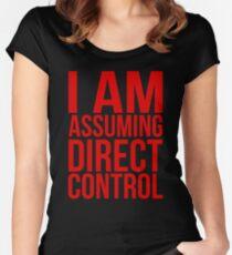 "Mass Effect 2 - ""I Am Assuming Direct Control"" Women's Fitted Scoop T-Shirt"