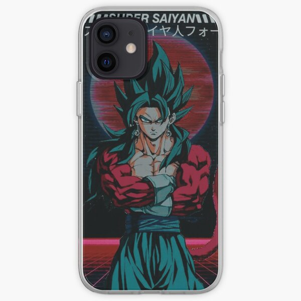 Dragon Ball Z - Goku Super Saiyan 4 Funda blanda para iPhone