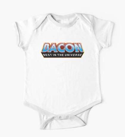 """BACON """"Best In The Universe"""" Kids Clothes"""