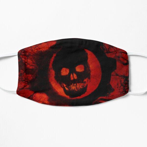 Red Black inverted facemask omen Mask
