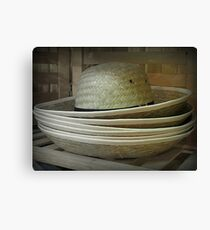 Hats Off to the Amish Canvas Print