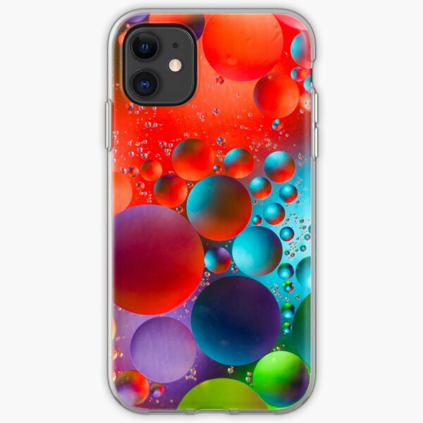 Oil and Water iPhone Soft Case
