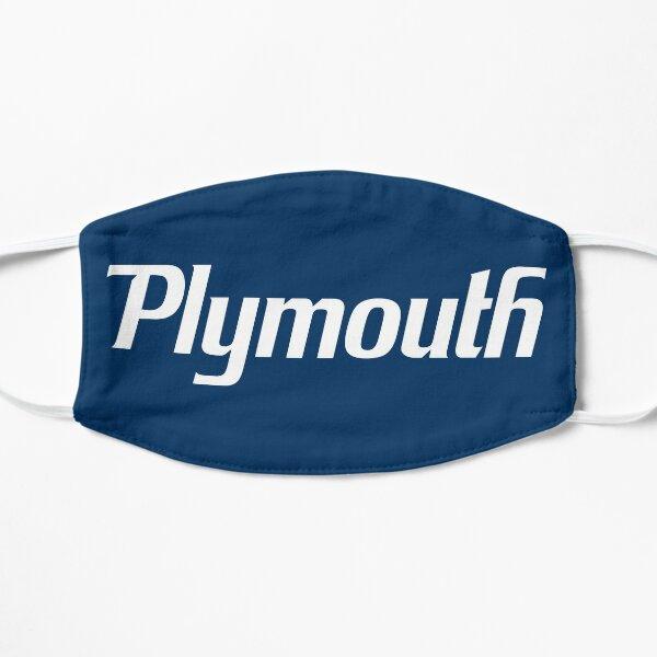 Plymouth Script - White Flat Mask
