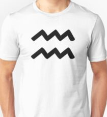 Aquarius - Waterbearer - Astrology Sign T-Shirt