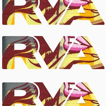 """RVA - Flood Wall """"For Lovers Stickers"""" by CUNRVA"""