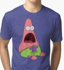 Surprised Patrick Tri-blend T-Shirt