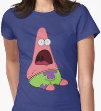 Surprised Patrick Women's Fitted T-Shirt