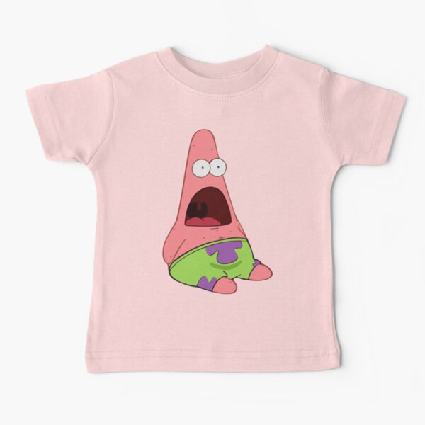 Surprised Patrick Baby T-Shirt