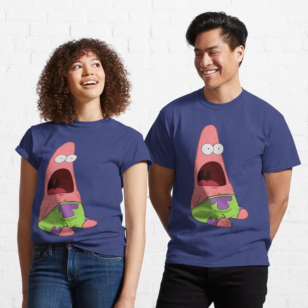 Patrick sorprendido Camiseta clásica