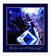 Mystical Fairy Photographic Print
