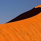 Sand Sea at Dune 45 - dawn by David Tovey