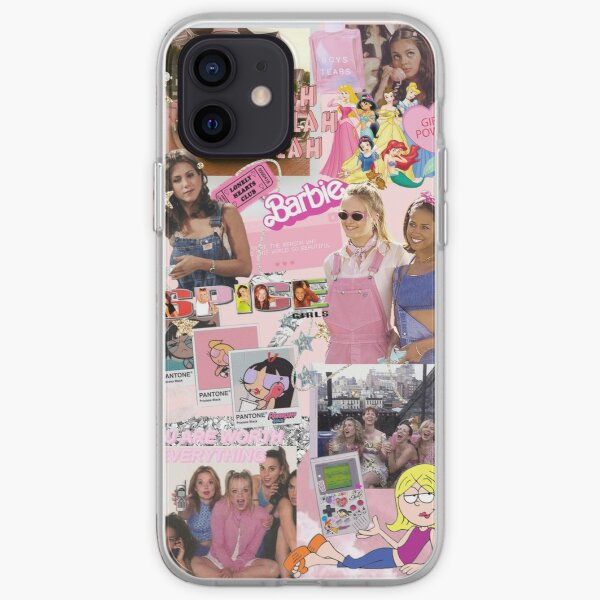 y2k Barbie Collage iPhone Soft Case