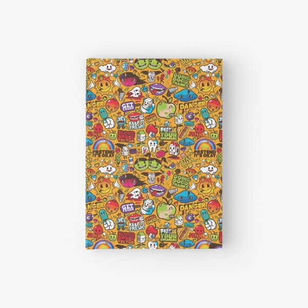 Psychedelic Apples of Death Hardcover Journal