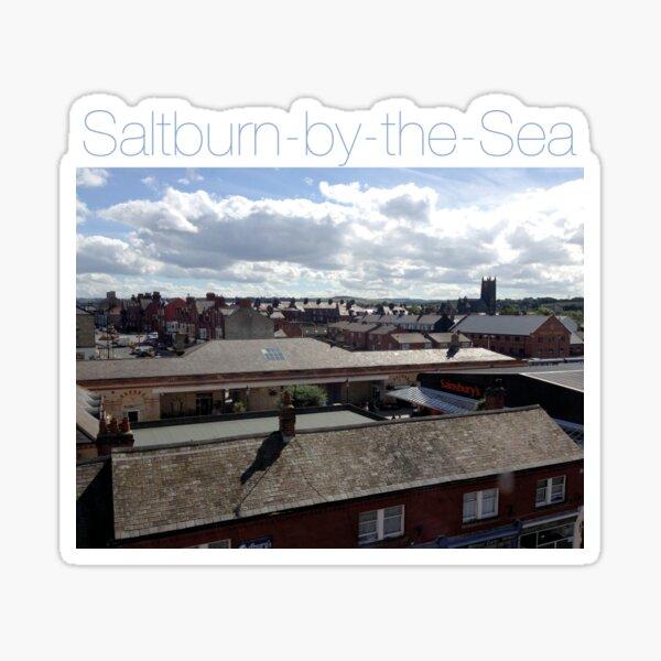 NDVH Saltburn - rooftops. Sticker