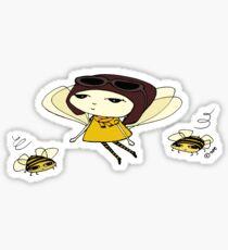 fly girl Sticker