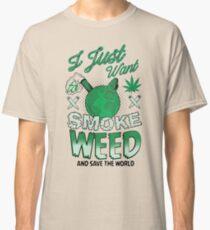 SMOKE WEED Classic T-Shirt