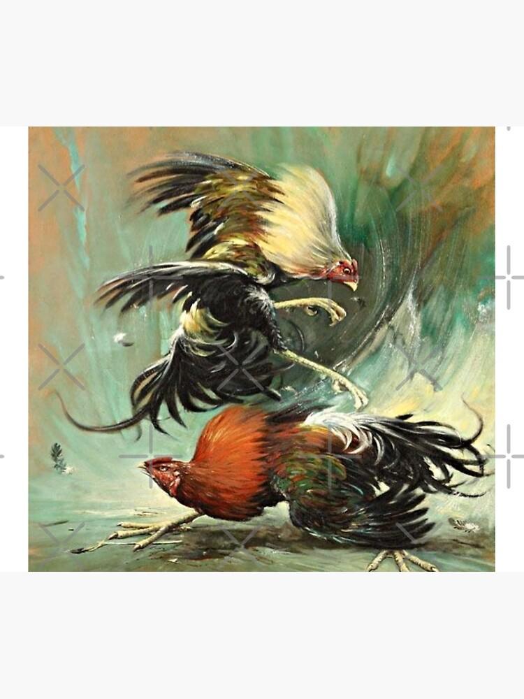Pelea de gallos, Rooster fight, cock fight  by GetRight209