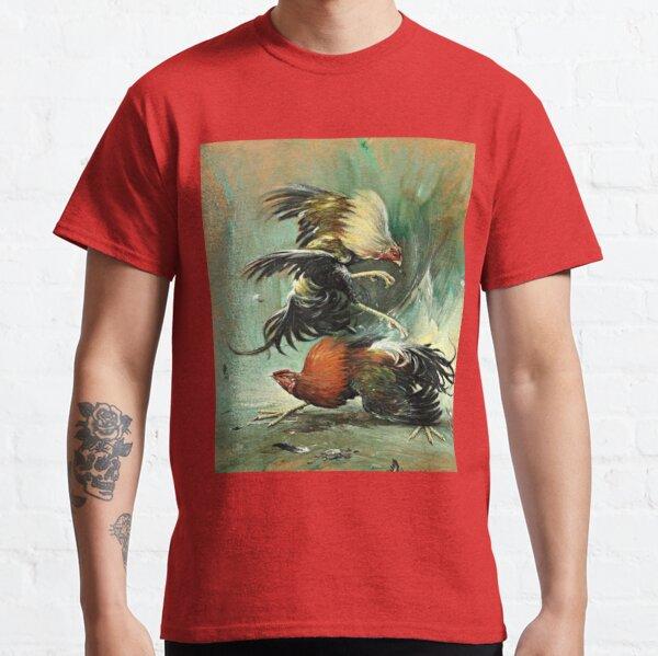 Pelea de gallos Camiseta clásica