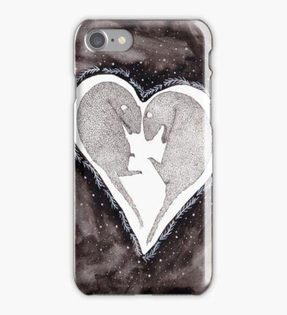Festive Ferrets iPhone Case/Skin