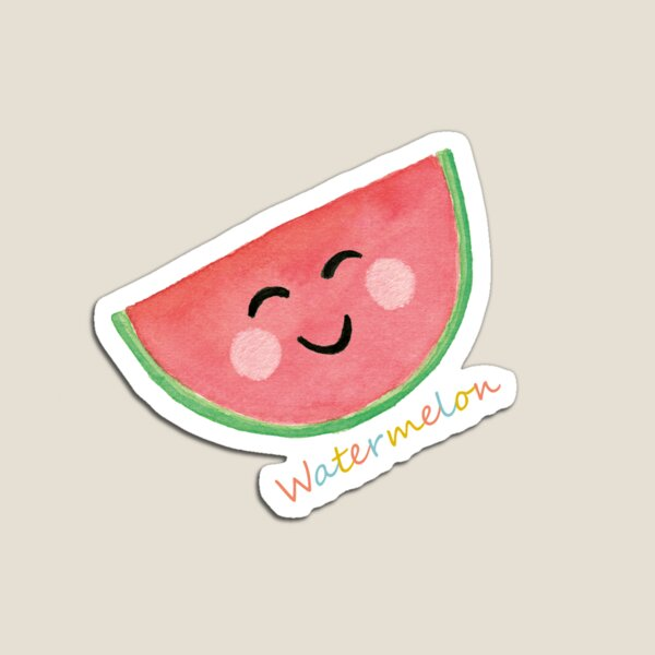 The Merry Watermelon Magnet