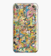 Cartoon Network Collage iPhone Case/Skin