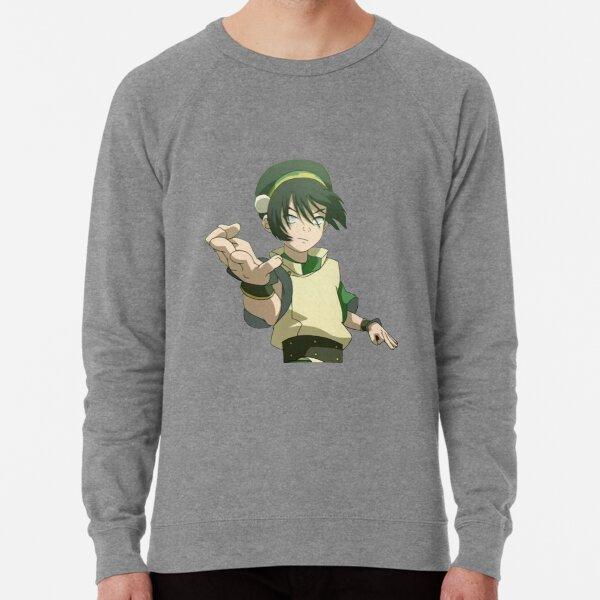 Toph Beifong Earth Bending Avatar Lightweight Sweatshirt