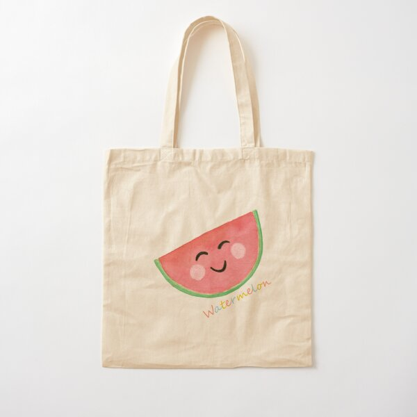 The Merry Watermelon Cotton Tote Bag