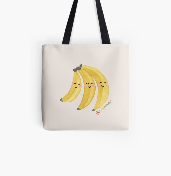 The Jolly Bananas All Over Print Tote Bag