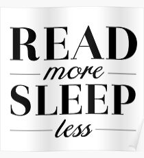 Read/Sleep Poster