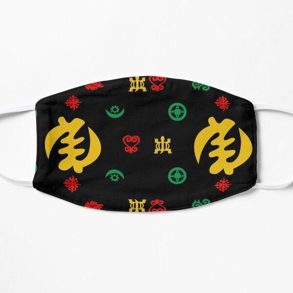 Adinkra Symbols - Gye Nyame highlighted Flat Mask