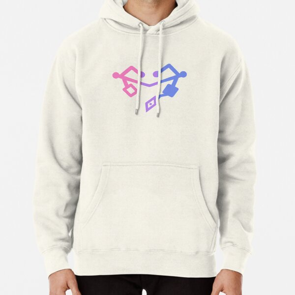 She Ra Heart First ones Bisexual Flag Pullover Hoodie