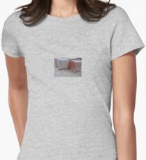 Rose Turkish Delight Close Up Womens Fitted T-Shirt