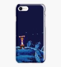Guybrush went bone hunting! iPhone Case/Skin