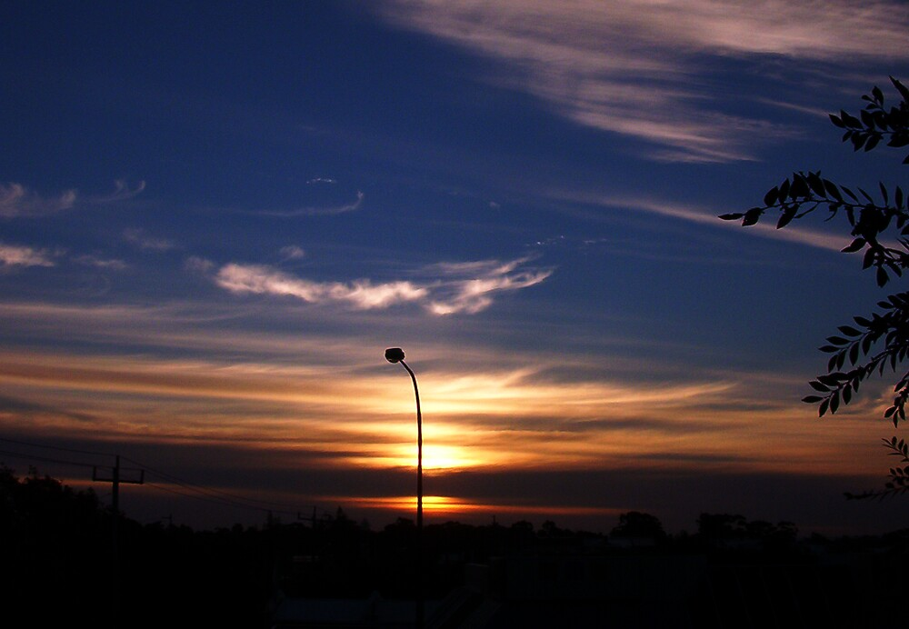 Dawn From My Flat by robertemerald