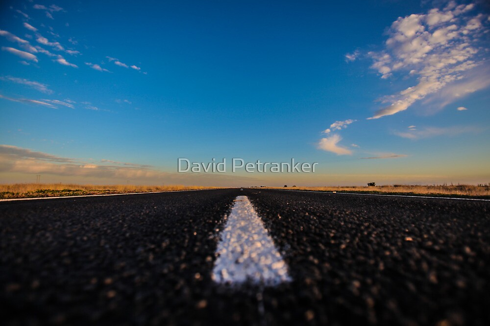 White Lines by David Petranker