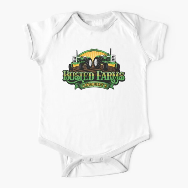 Busted Farms Short Sleeve Baby One-Piece
