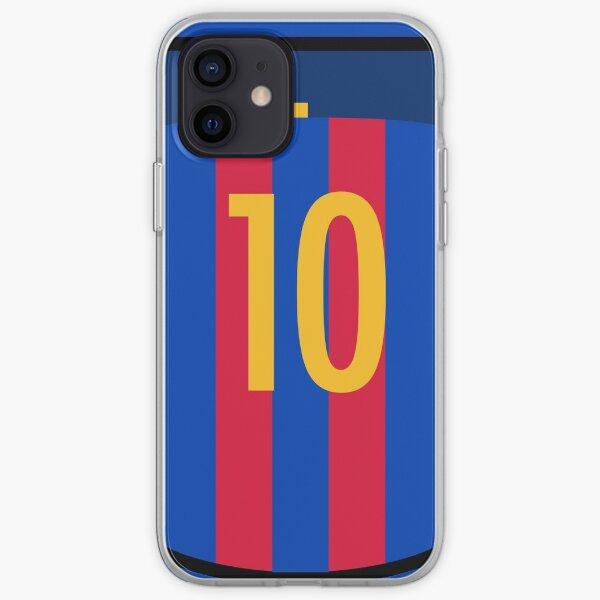 Messi (Barça) Funda blanda para iPhone