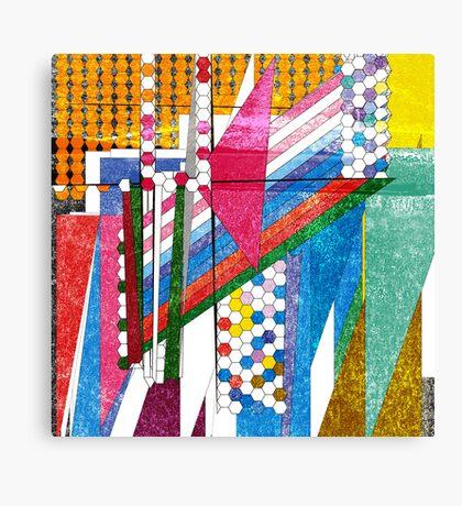 graphic bordello Canvas Print