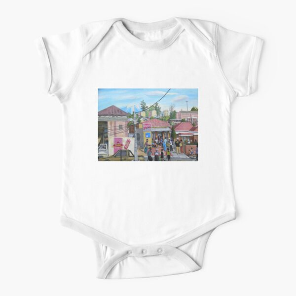 Tommy Machaba - Alex in a Day Short Sleeve Baby One-Piece