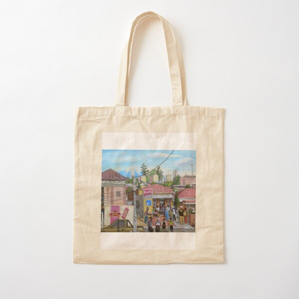 Tommy Machaba - Alex in a Day Cotton Tote Bag